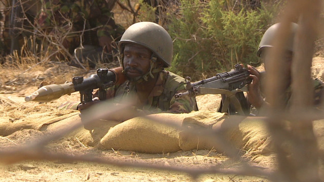 Kenya's military fighting in Somalia
