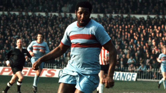 Clyde Best made his West Ham United debut in 1968, and the striker became one of the first black players to establish himself as a first-team regular in England
