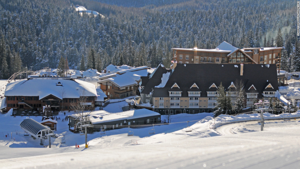 Slopeside digs at Schweitzer Mountain start at $164.