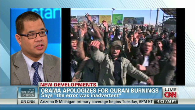 Sensitivity training after Quran burning