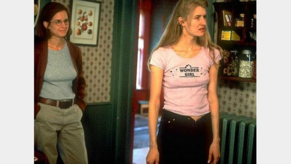 """Tent and Payne met when Payne needed an editor for """"Citizen Ruth,"""" starring Laura Dern (right)."""