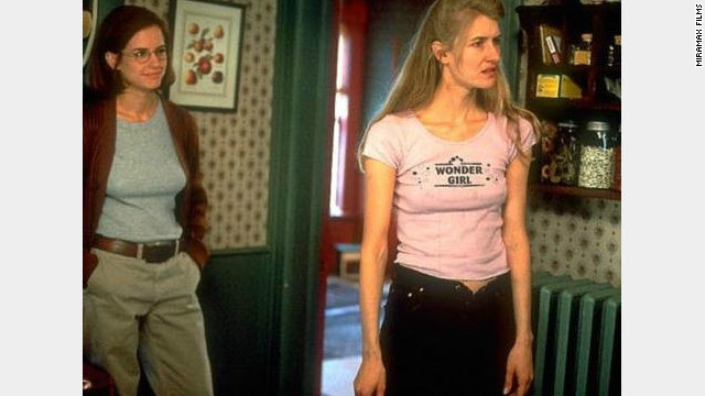 "Tent and Payne met when Payne needed an editor for ""Citizen Ruth,"" starring Laura Dern (right)."