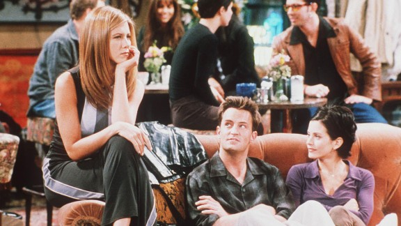 """A still from U.S. sitcom """"Friends."""""""