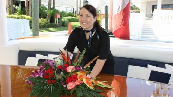 Bonnie Muddle has been working on superyachts for the past six years.