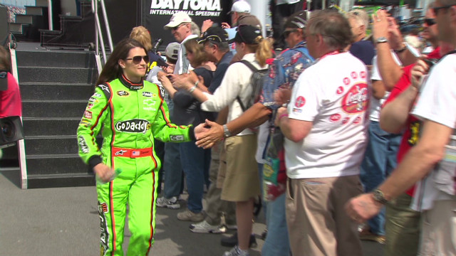 The fascination with Danica Patrick