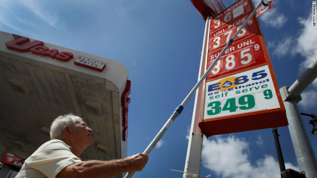 The price of gas goes up at a Miami station.  All this week, CNN will take an In Depth look at what's behind soaring gas prices.
