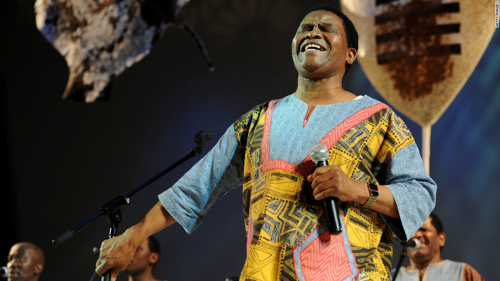 Joseph Shabalala founded Ladysmith Black Mambazo in the early 1960s -- to this day, he is the one of the two remaining original members of the group.