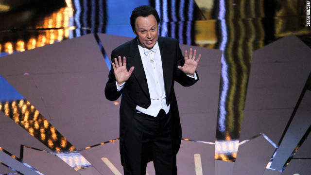 Billy Crystal hosts the 84th annual Academy Awards in Los Angeles on February 26, 2012.