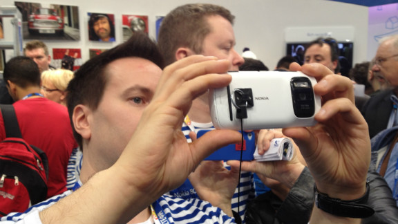 Nokia raised eyebrows with its new PureView smartphone, boasting a 41 Megapixel camera.
