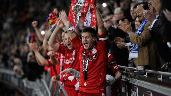 While Anthony Gerrard reflected on his miss, Steven lifted Liverpool