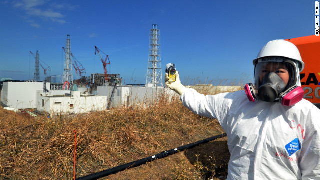 Look inside Fukushima's meltdown zone