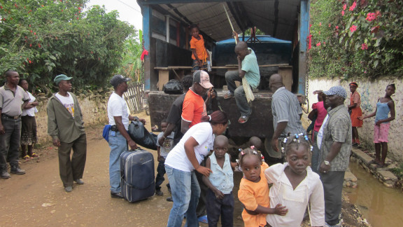 The end of the journey back to Haiti from the Dominican Republic marks a new start for these returnees.