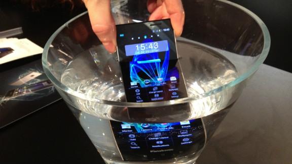 Panasonic's Eluga Power smartphone is among the new breed of waterproof devices.