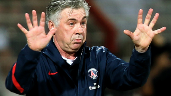 PSG appointed former Juventus and Chelsea coach Carlo Ancelotti in December in a bid to secure the club