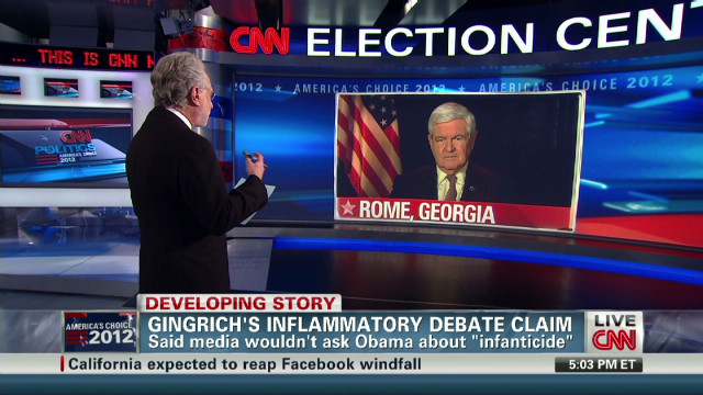 Newt Gingrich fact checked by CNN