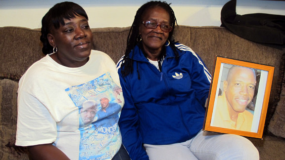 Althea Phillips and her daughter, Yvonne, talk about the death of Althea