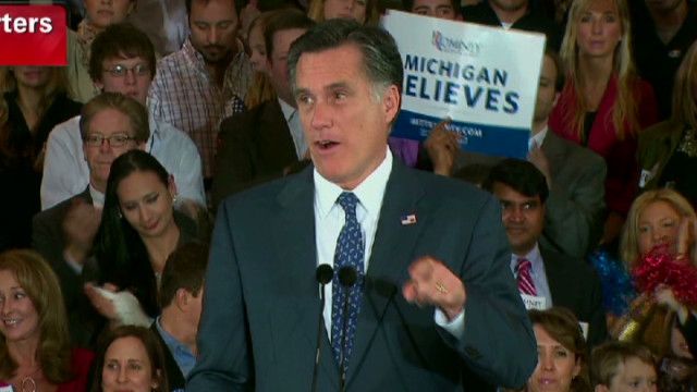 Romney: Didn't win by a lot, but enough