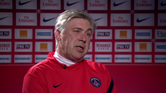 Ancelotti eyes PSG success