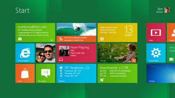 A screen shot of Microsoft