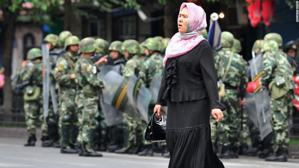 Image result for Uighurs, Xinjiang, china, soldiers, photos