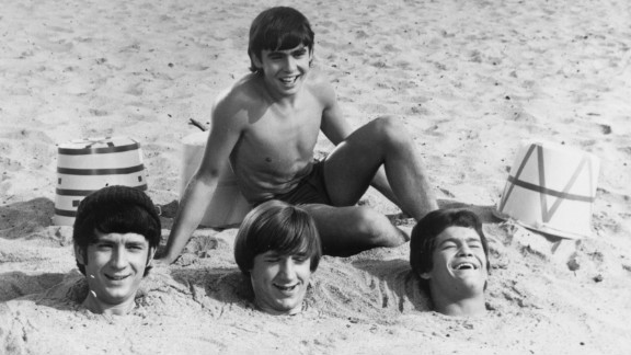 """Jones buries fellow members of The Monkees in 1967. The diminutive vocalist and actor sang lead on the musical group's hits such as """"Daydream Believer"""" and """"A Little Bit Me, A Little Bit You."""""""