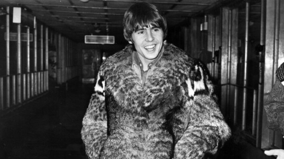 Jones is caught by the camera leaving London Airport circa 1968.