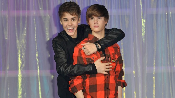 Madame Tussauds had everyone seeing double when Bieber