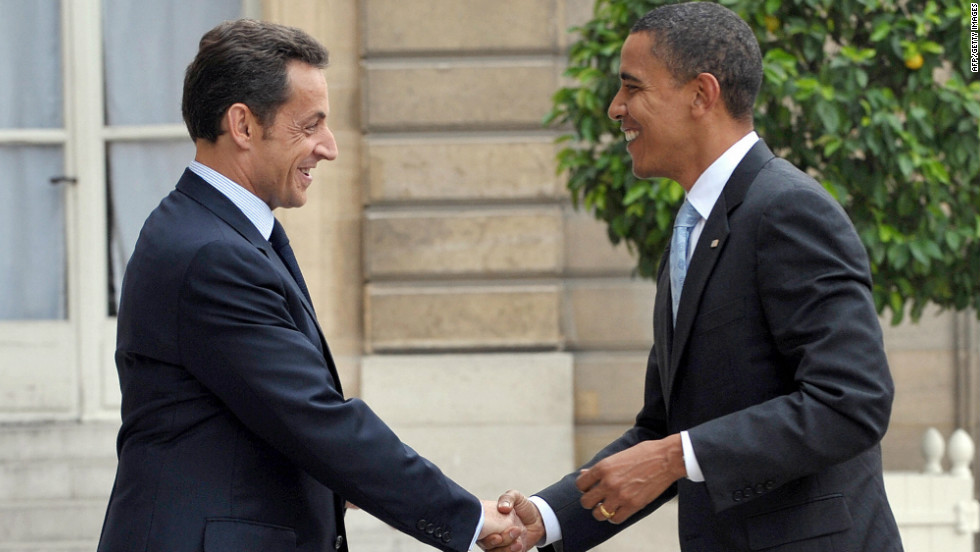 "After years of the stuffy Jacques Chirac, the French elected the fresher Sarkozy as president -- but Obama remains a step above, and not only in ""coolitude."""