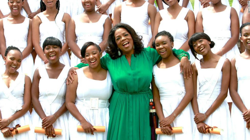 Marketplace Africa landed an interview with the 'Queen of chat' Oprah Winfrey, who  told Robyn Curnow how she hoped to harness the potential of the girls at her school to create future leaders for South Africa.