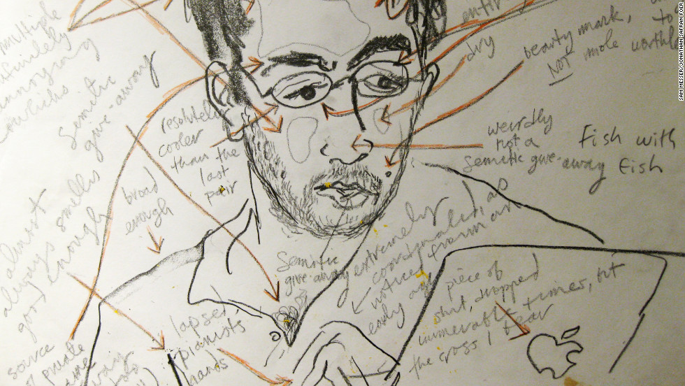 It's Foer's energy that makes him a subject that Messer wants to capture artistically.