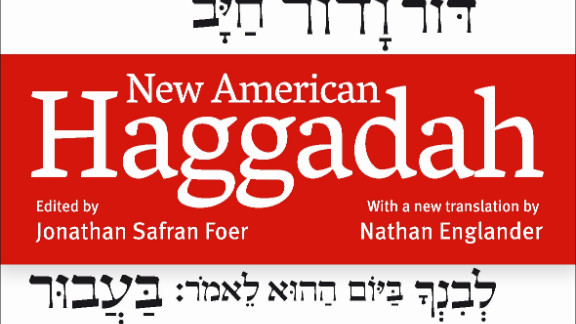 Foer sought out writer Nathan Englander to translate from the original Hebrew for the Passover hagaddah.