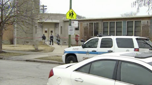 Two students were stabbed, one fatally, inside the front door of  AMIkids Infinity School on Thursday.