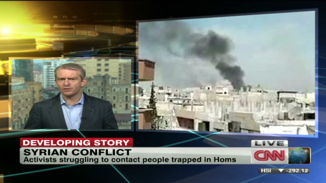 Reports of major army assault on Homs