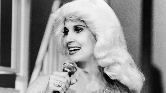 """Tammy Wynette, pictured in 1980, received a boost when British band the KLF featured her on the 1991 hit """"Justifed and Ancient."""""""