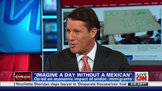 """Imagine a day without a Mexican"""