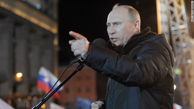 Controversy surrounds Putin's election