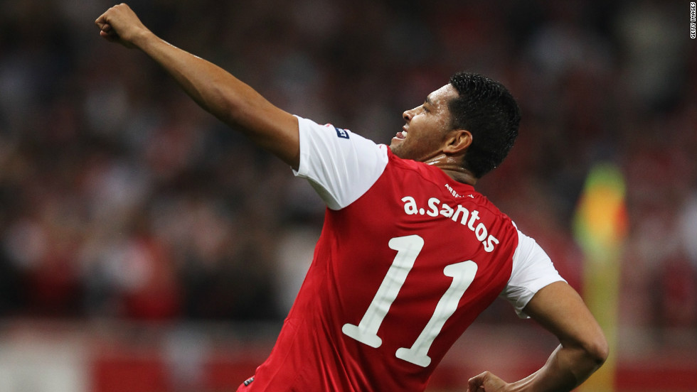 Of all international transfers in 2011, 20% of them involved Brazilian and Argentine players. Brazil accounted for 13% of all international transfers, which equates to 1,500 players. Andre Santos is one such player, after the Brazil left-back moved from Fenerbahce to Arsenal in August.