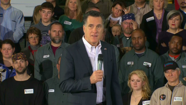 Romney out front in Ohio, survey says