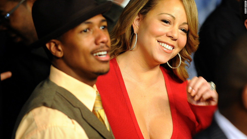 At 33, Nick Cannon is roughly a decade younger than Mariah Carey. The pair wed in 2008.