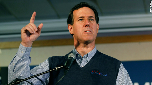 Former. Sen. Rick Santorum, shown campaigning in Ohio, won't be on the Virginia ballot Tuesday.