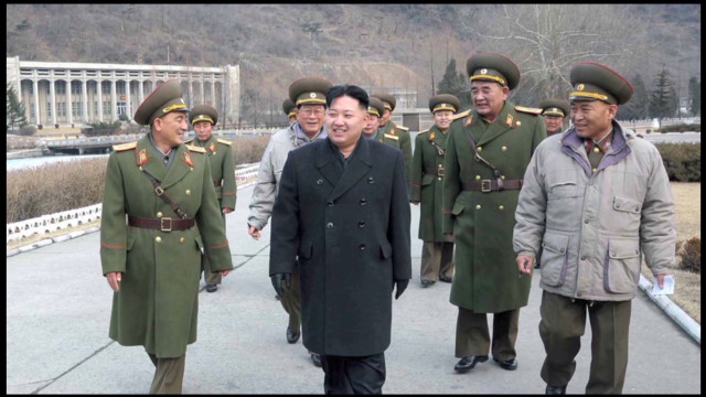 New N. Korean leader visits DMZ