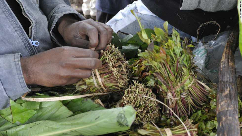 Is narcotic khat funding terrorism? - CNN