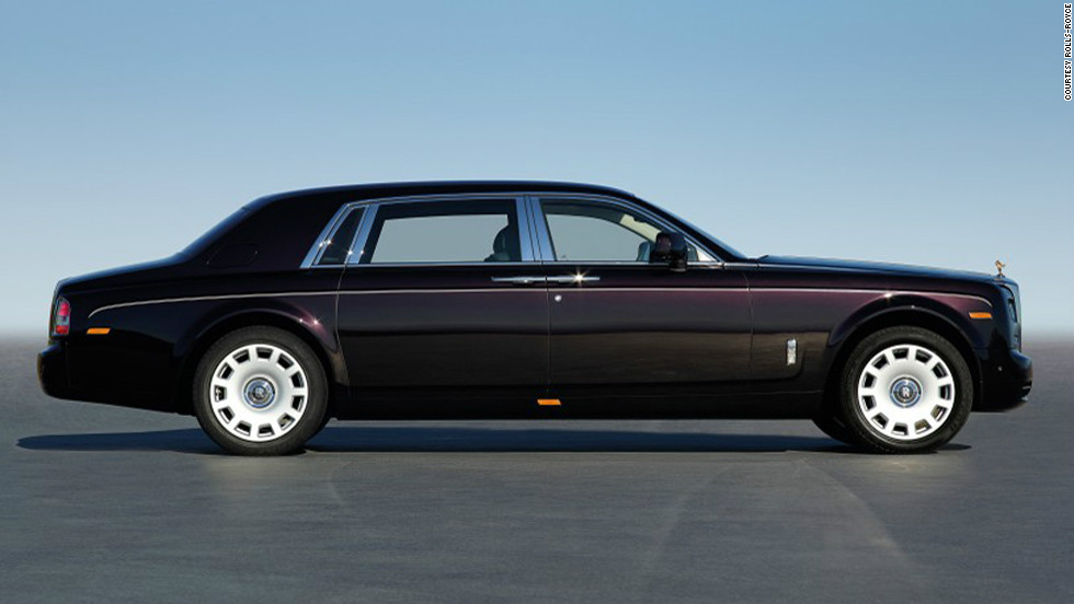 The new Rolls-Royce Phantom Series II will be on display at the Geneva Car Show in the coming weeks.