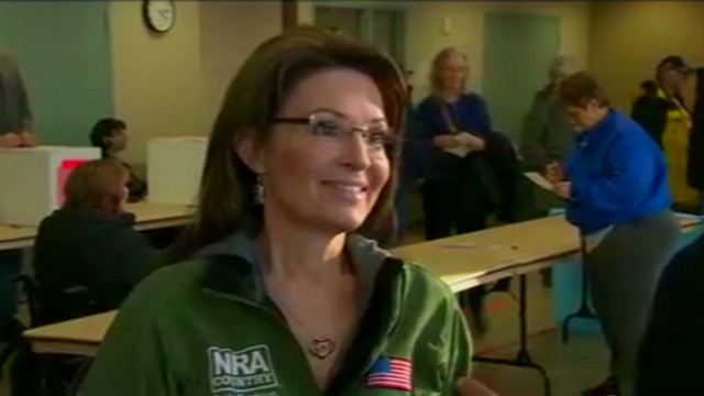 Palin leaves door open for 2012 run