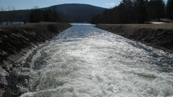 1.1 billion gallons of water flows from reservoirs in upstate New York to New York City every day. Environmentalists fought to protect those waters from fracking.