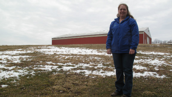 Farmers like Judy Whittaker hope to sign leases with gas companies for natural gas drilling operations on their land.