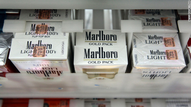 Bloomberg targets cigarettes in NYC