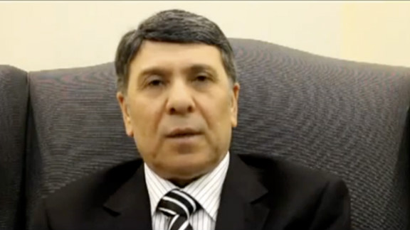 A man identifying himself as Syria's deputy oil minister, Abdo Hussam el Din, said in a YouTube video he was defecting.