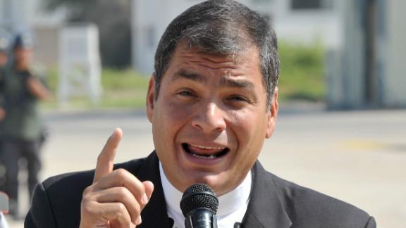 Ecuadorean President Rafael Correa has accused his older brother of corruption.