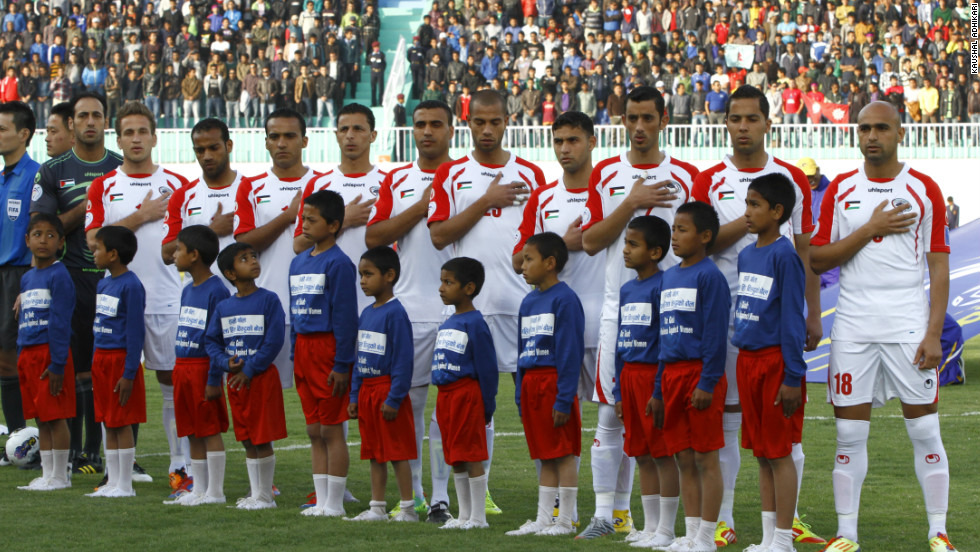 Palestine is one of 208 members of global football's governing body FIFA and is competing at the eight-team AFC Challenge Cup in Nepal.